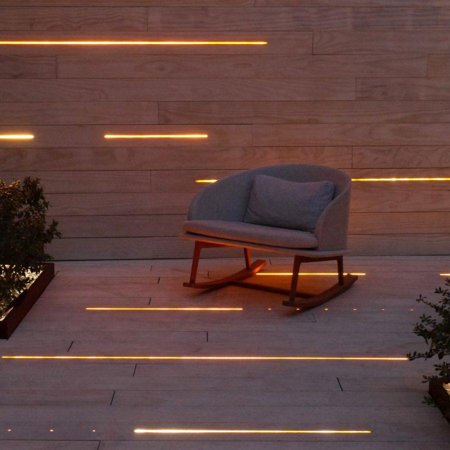 lighting decking