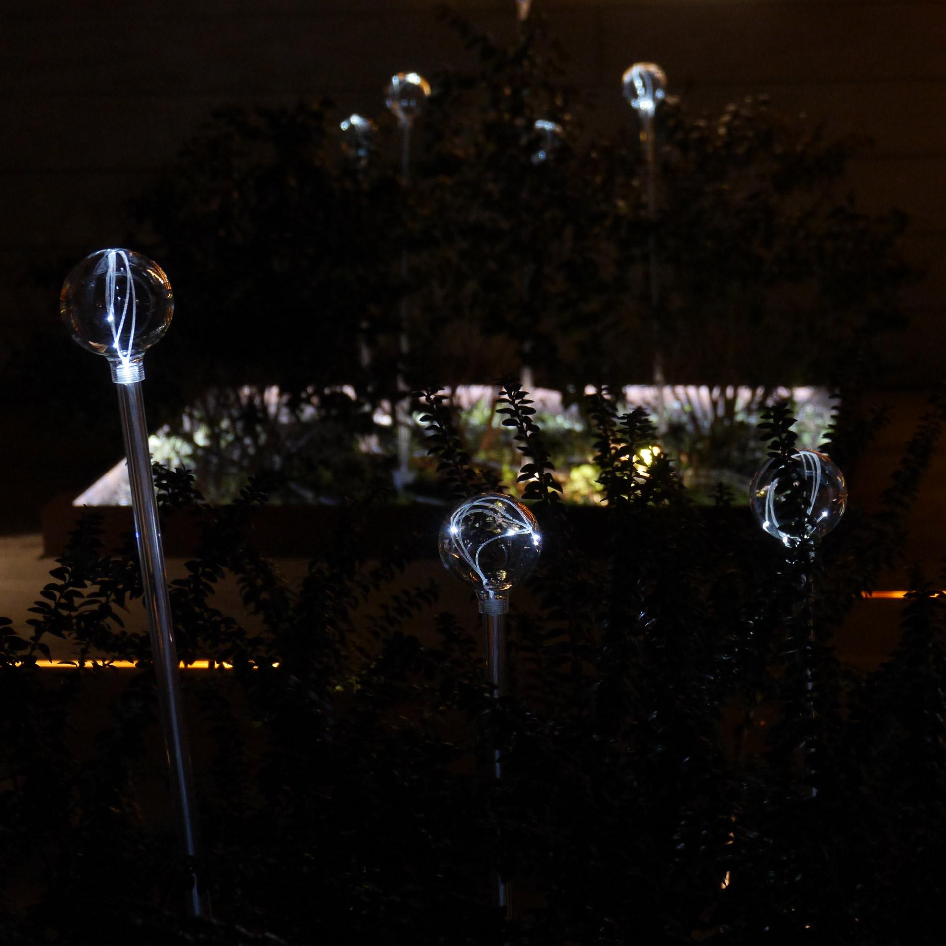 crystal transparent sphere dark