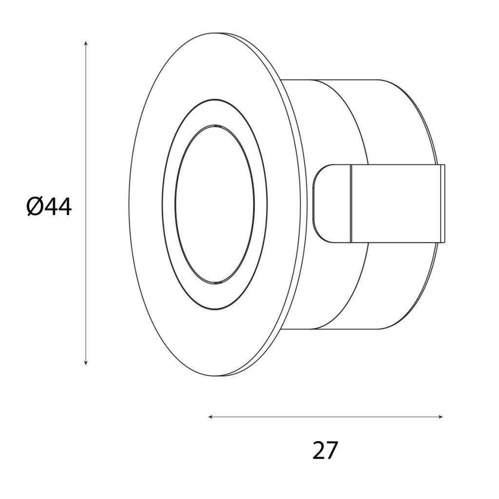 dimensioni RING_K Ø44x27 mm