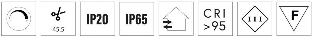 high cri led strip 14.4 W/m certifications