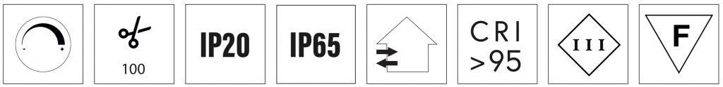 high cri led strip 4.8 W/m certifications