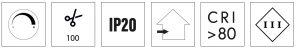 simboli led strip eco smd