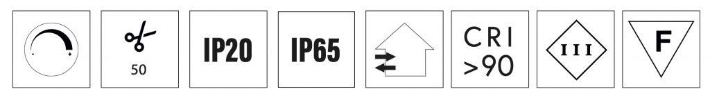 simboli strip ll-thin