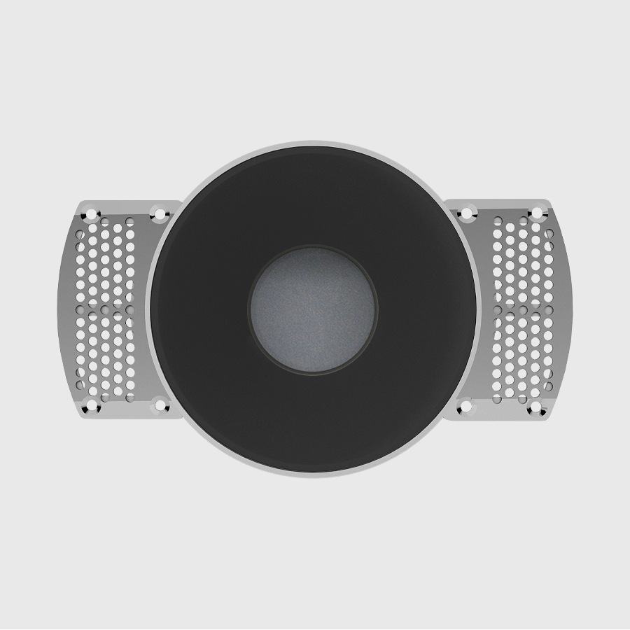 incasso led riflettore nero