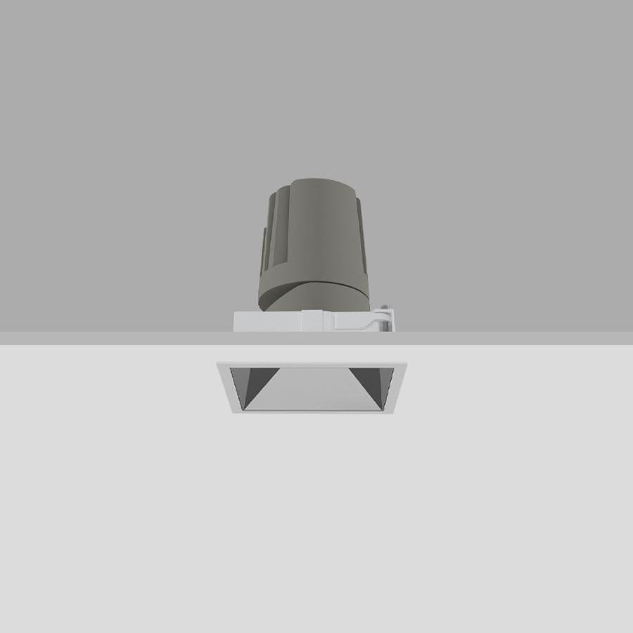 square recessed downlight